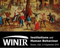 """Third WINIR Conference – Institutions and Human Behaviour"""